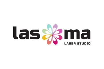 Logo Lasoma farebná verzia