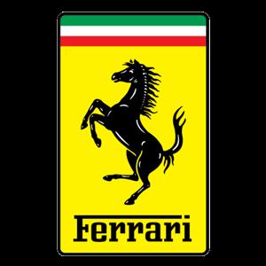 Logo Ferrari.