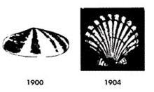 Logo Shell v rokoch 1900 - 1904